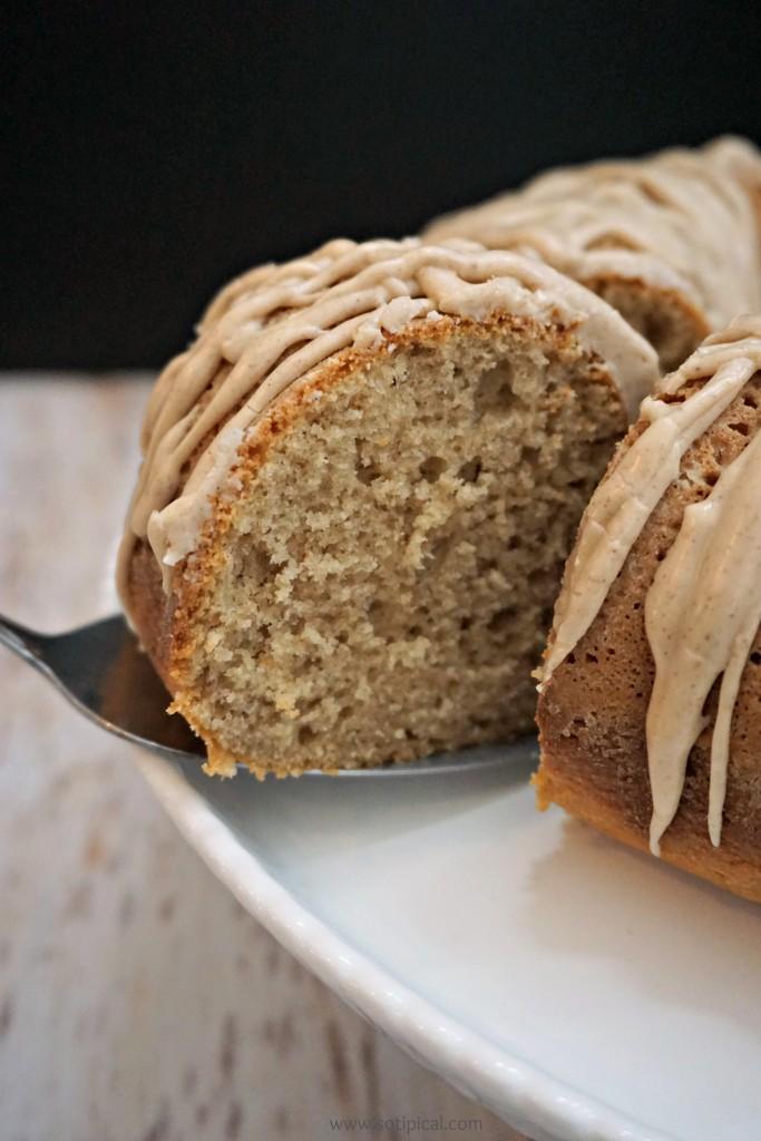 Chai Latte Bundt Cake - So TIPical Me