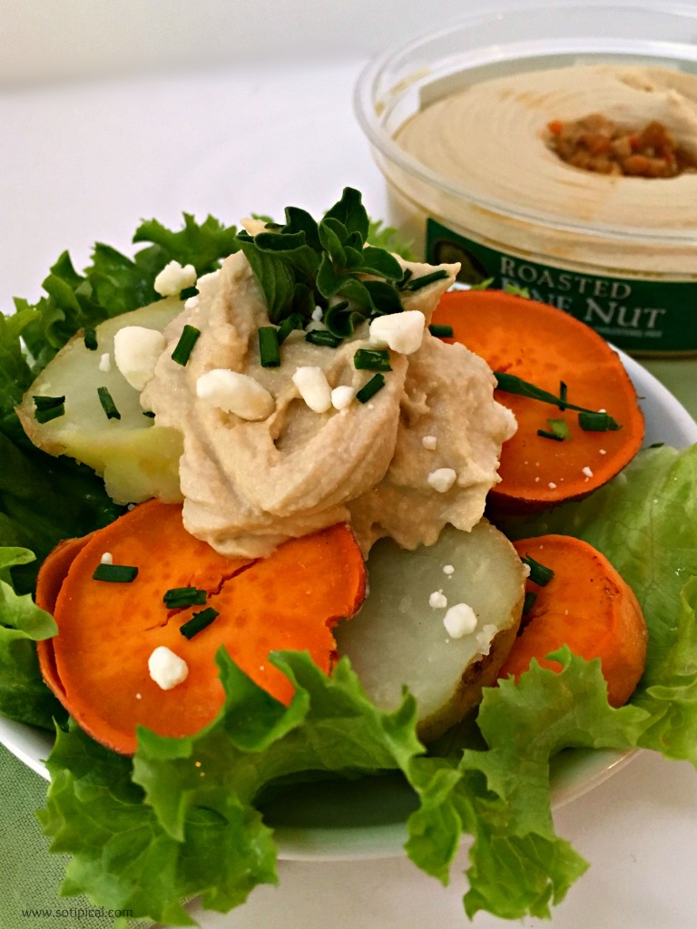 hummus potato salad