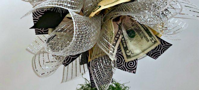 DIY Money Tree Gift Idea