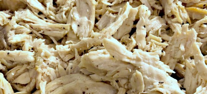 Easy Shredded Chicken