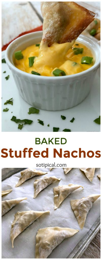 Baked Stuffed Nachos #ricoscheeseplease