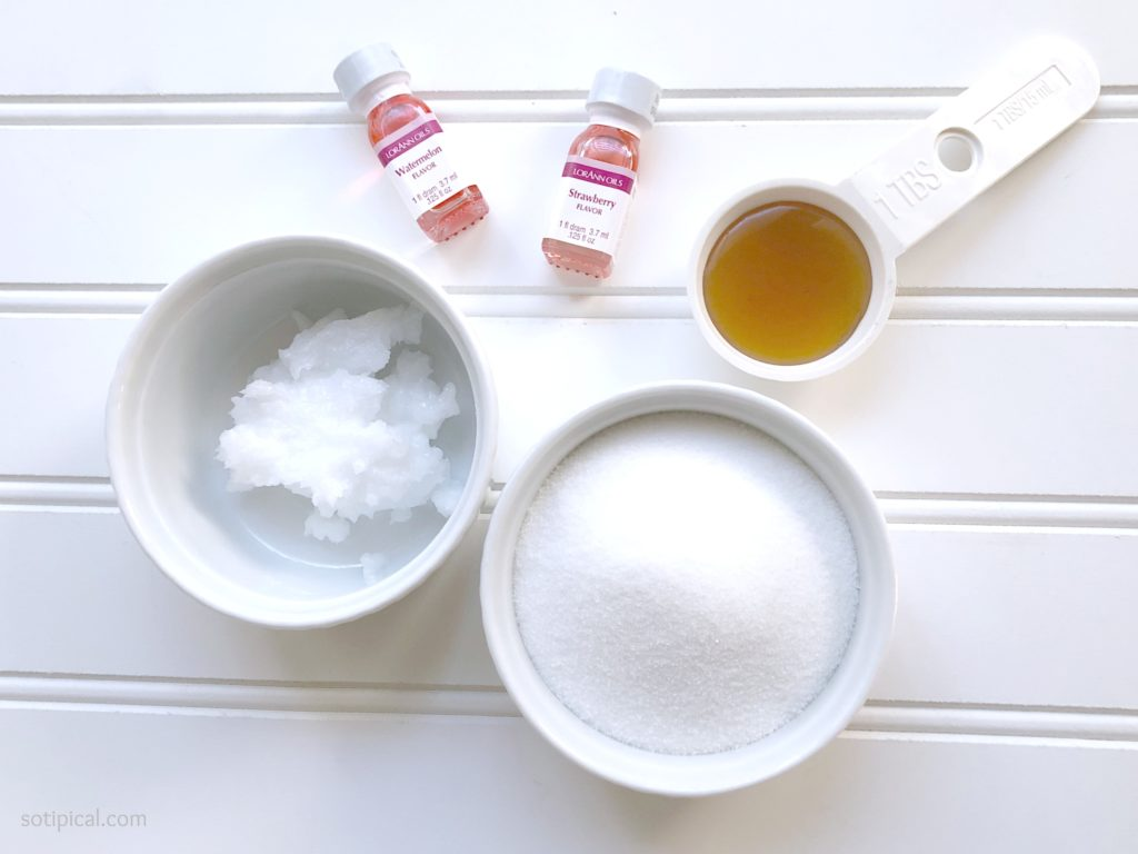lip scrub ingredients