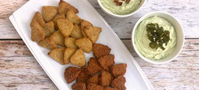 Tyson® Any'tizers® Chicken Chips with Creamy Avocado Dip